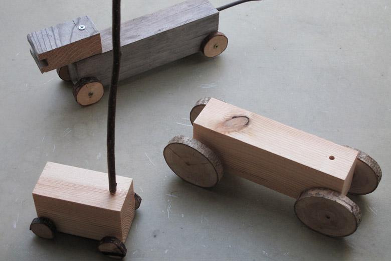 端材の乗り物 / クニオ・コット