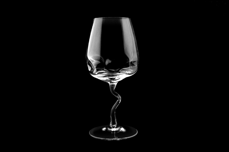 【取り扱い終了】Drunk Wine Glass (ドランク・ワイン・グラス) / William Warren (ウィリアム・ウォレン)