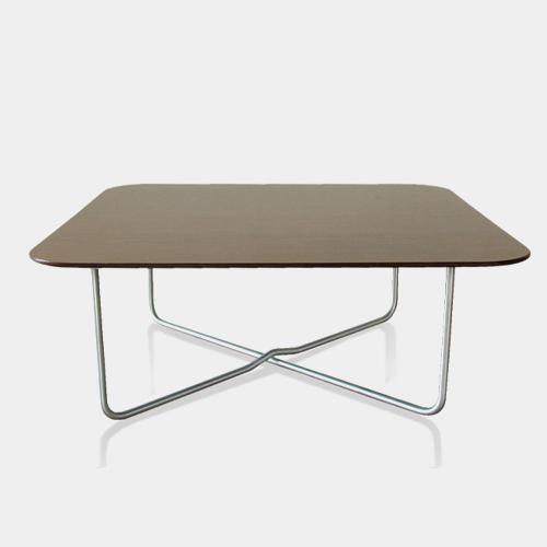 バステーブル+木目調ブラックリバーシブル天板 / ルームサファリ