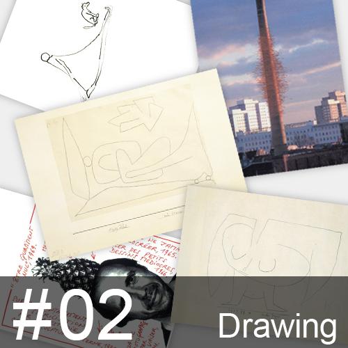 ポストカードコレクション #02 ドローイング / アトリエ340ミュージアム