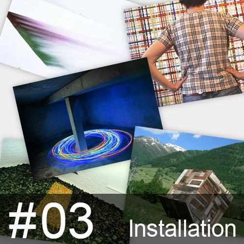 ポストカードコレクション #03 インスタレーション / アトリエ340ミュージアム