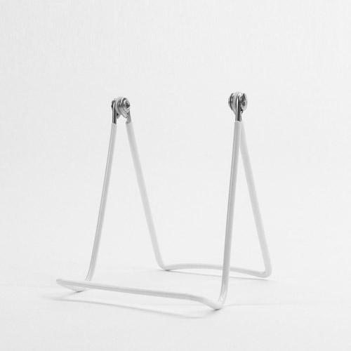 折り畳み式2ワイヤースタンド ホワイト サイズM