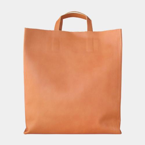 牛革のショッピングバッグ / アンチアトムス