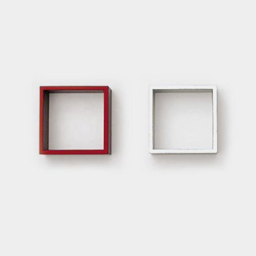 アルミ製の四角い指輪 / ラウムゲシュタルト