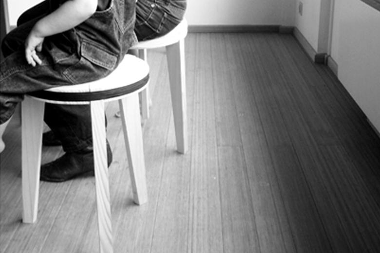 【取り扱い終了】タイトスツール ブラック / ディアーヌ・ステヴェリンク