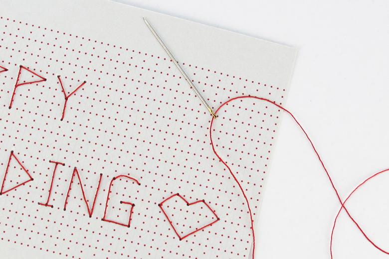 刺繍のポストカード ストーリー / デタイルス・プロドゥクテ + イデーン