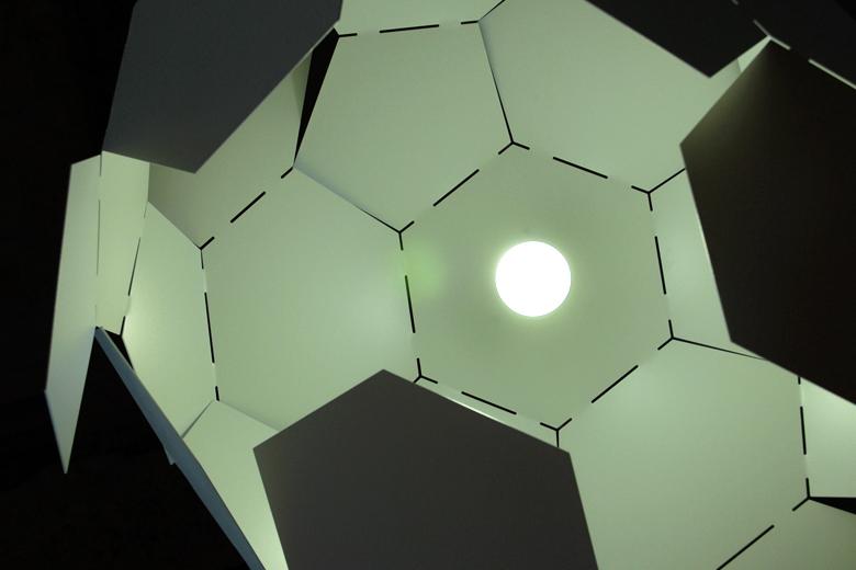 【取り扱い終了】イナズマ雲ライト ホワイト / リチャード・ハッテン
