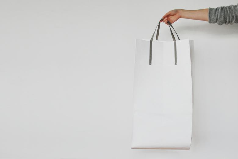 タイベックスの手提げバッグ 深型(35x35x60cm) / ラウムゲシュタルト