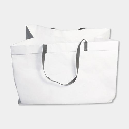 タイベックスの手提げバッグ 浅型(48x29x32cm) / ラウムゲシュタルト