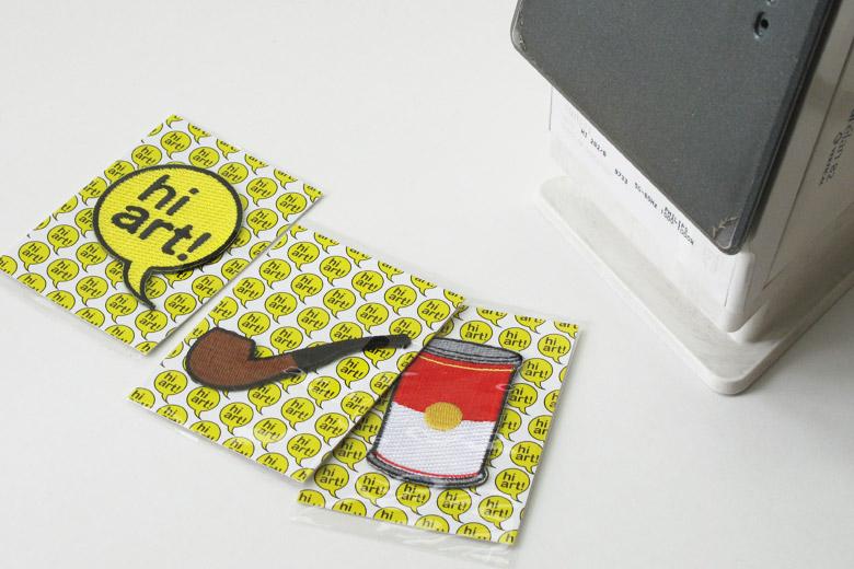 ハイ芸術!刺繍ワッペン「POP Art」 / サード・ドロア・ダウン