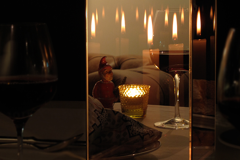 【取り扱い終了】マジックミラーボックスのキャンドルスタンド / デタイルス・プロドゥクテ + イデーン