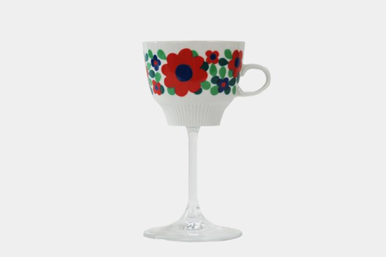 【取り扱い終了】デッドストックカップのワイングラス / ホラフンケル・ビルギッソン