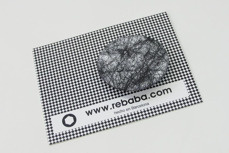 黒い蜘蛛の巣のブローチ (ブラック・ウェブ) / レババ