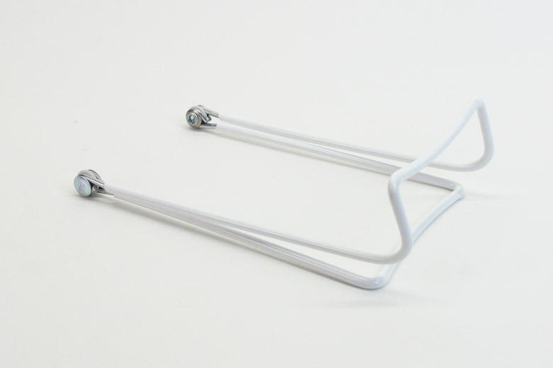 折り畳み式2ワイヤースタンド ホワイト サイズM Tall