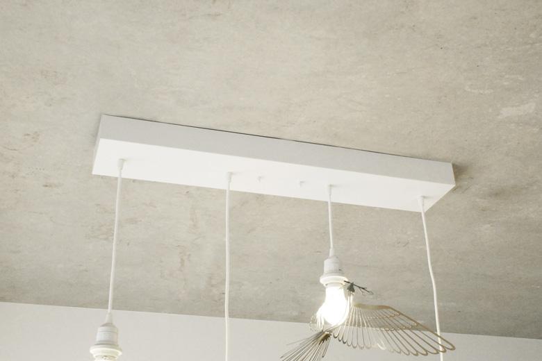 4灯吊下げ照明用器具(長方形) / エアコンディションド