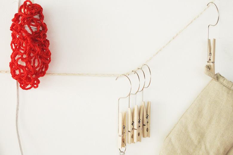 ハンガーペグ用の吊下ロープ ナチュラル (ハンガーペグ・ロープ) / バブーシュカ・カルテット