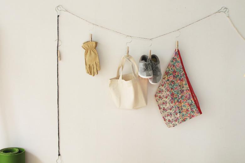 ハンガーペグ用の吊下ロープ ブラック (ハンガーペグ・ロープ) / バブーシュカ・カルテット