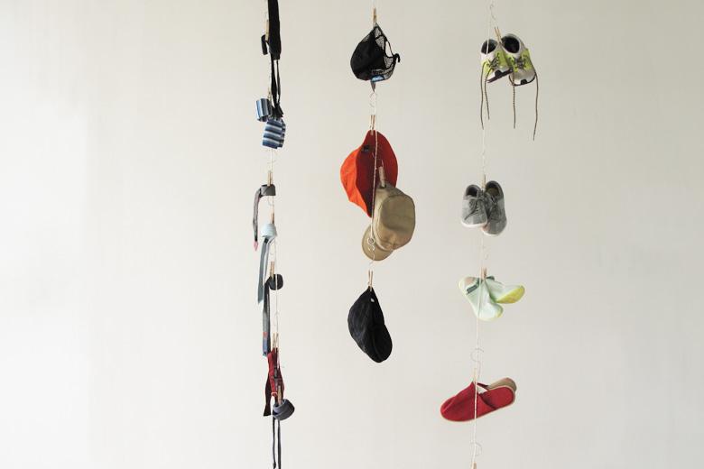 ハンガーペグ用の吊下ロープ レッド (ハンガーペグ・ロープ) / バブーシュカ・カルテット
