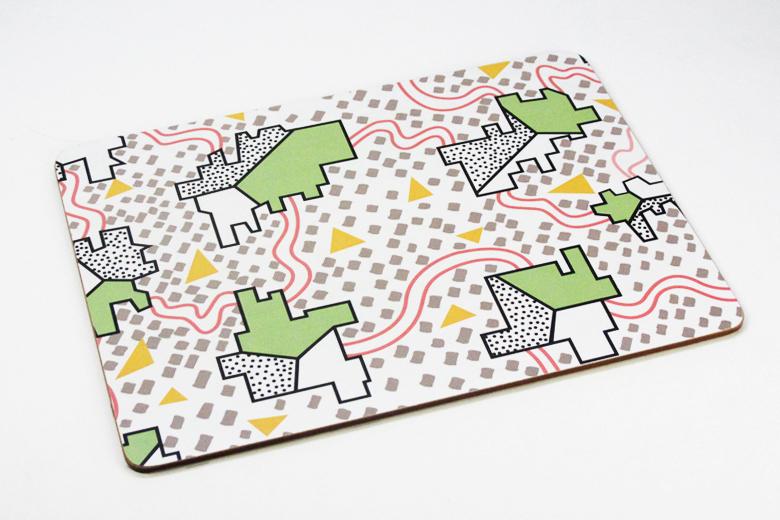 食卓プレイスマット 4柄セット / ナタリー・ドゥ・パスクエ