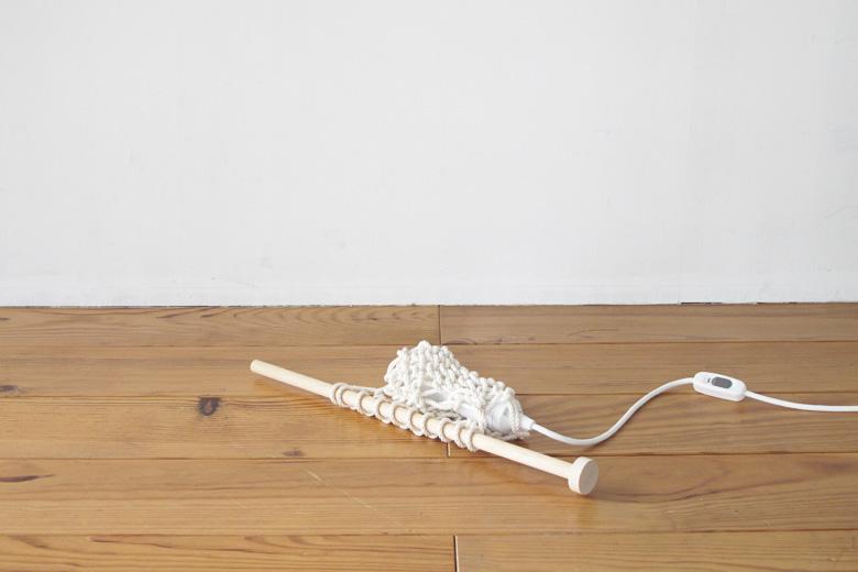 覆われた照明 ハンディタイプ 編み棒付き ナチュラル (カバーオール) / バブーシュカ・カルテット