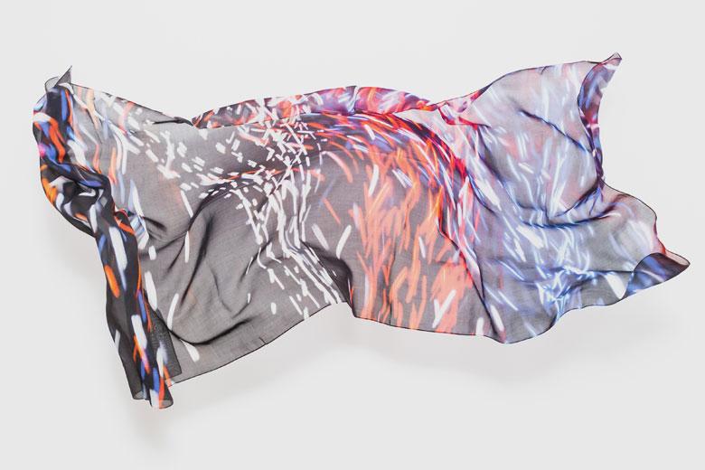 閃光 (Quanta) のスカーフ / カースティン・スチュワート