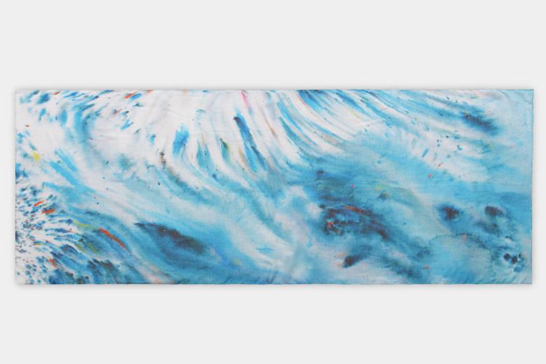 砂丘 (Dune) のスカーフ ブルー / カースティン・スチュワート