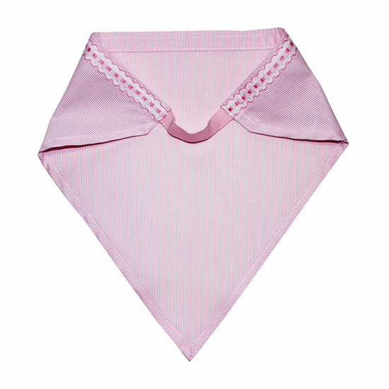 エプロン&三角巾(ピンク)