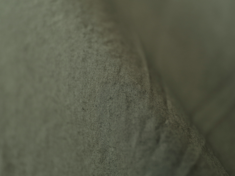 80/1タイプライター 半袖スタンドカラープルオーバーシャツ R34103 RINEN men