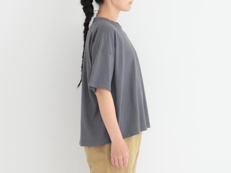 30/1リサイクルムラ糸天竺、TOP杢 フレアーTシャツ P92173  prit