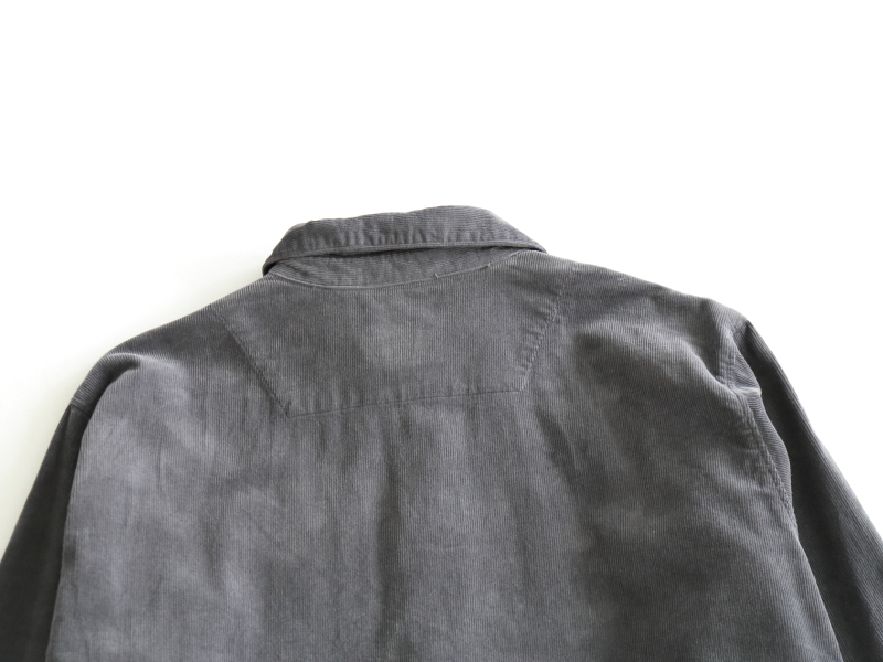 16/1 16ウェルコーデュロイ リラックスシャツ R33100 RINEN men