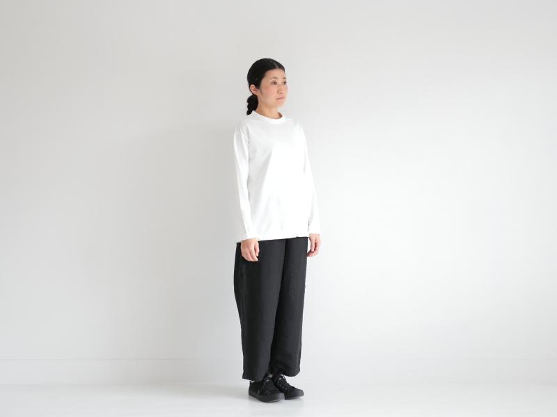 60/1ミニ裏毛 クルーネック R11100 RINEN+ women