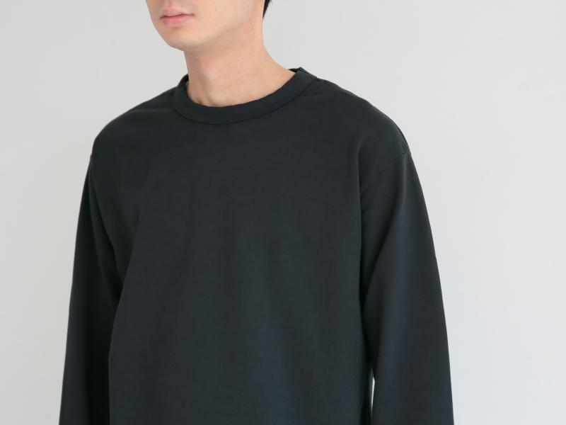60/1ミニ裏毛 クルーネック R14100 RINEN+ men