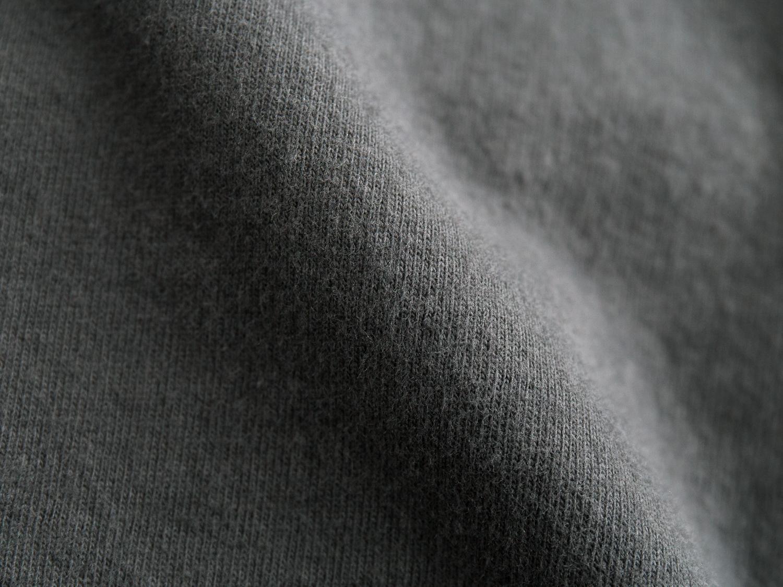 16/1空紡糸天竺両面起毛 ラウンドヘムロングプルオーバー P90243 prit