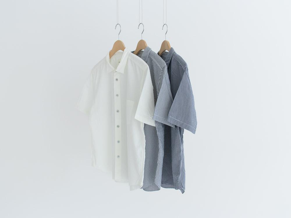 80/2ダウンプルーフ 半袖レギュラーカラーシャツ  38002 TEIBAN men