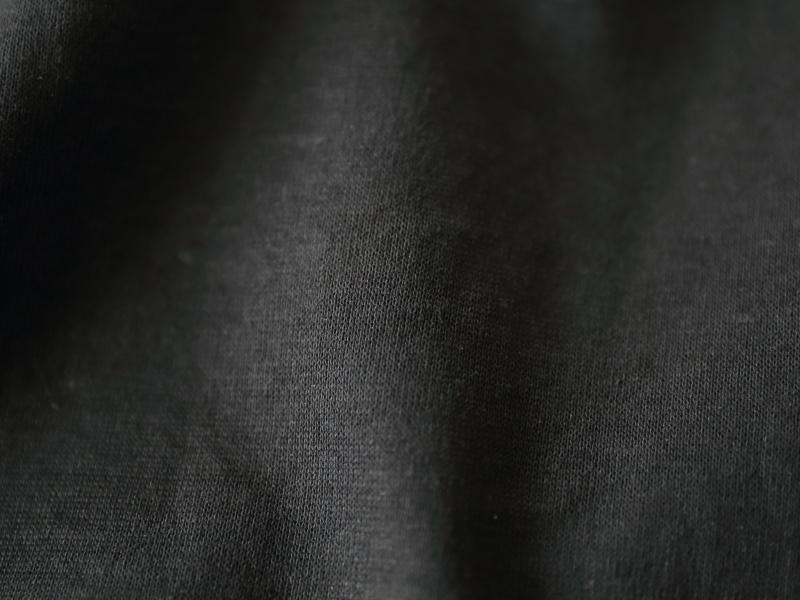 50/1引き揃え綿麻天竺 クルーネックビッグプルオーバーチュニック P91145  prit