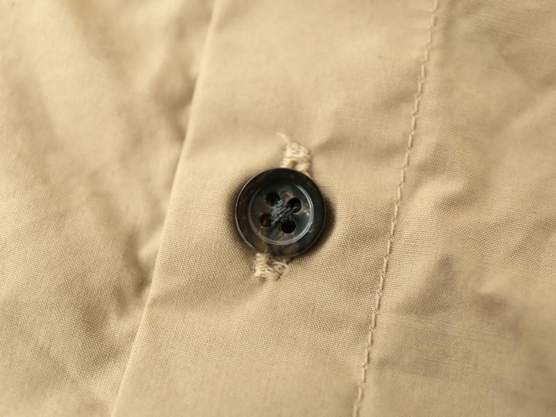 60/1スーピマコットンタイプライター 5分袖バックタックフレアープルオーバー P82105  prit
