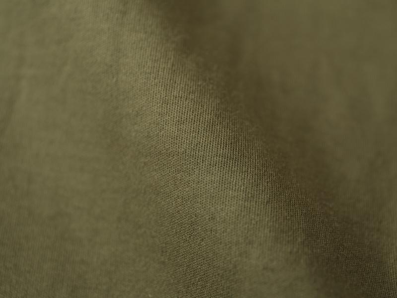 50/1ハイゲージスムース 5分袖クルーネックワイドワンピース P91159  prit