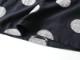 綿麻水玉カットジャガード 7分袖プルオーバー P81115  prit