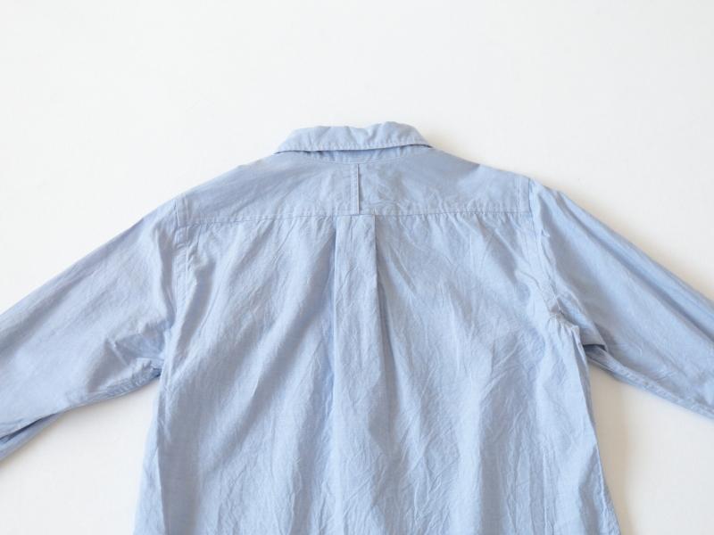 60/1引き揃えスビンオックス ラウンドカラーシャツ P80161  prit