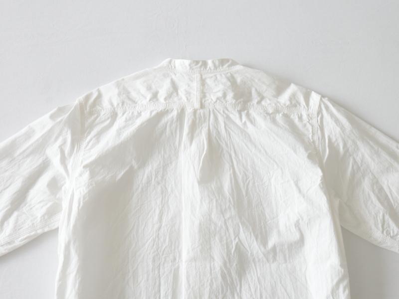 80/2ダウンプルーフ スタンドカラーシャツ  38001 TEIBAN men