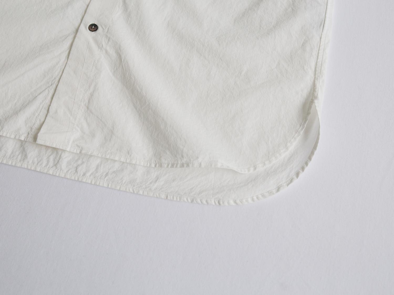 80/1サテン近江晒 ダブルポケットシャツ R33207 RINEN men