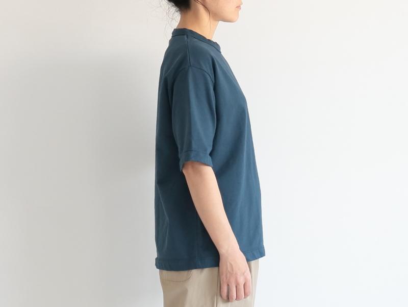 60/1ミニ裏毛 半袖クルーネック R11101 RINEN women