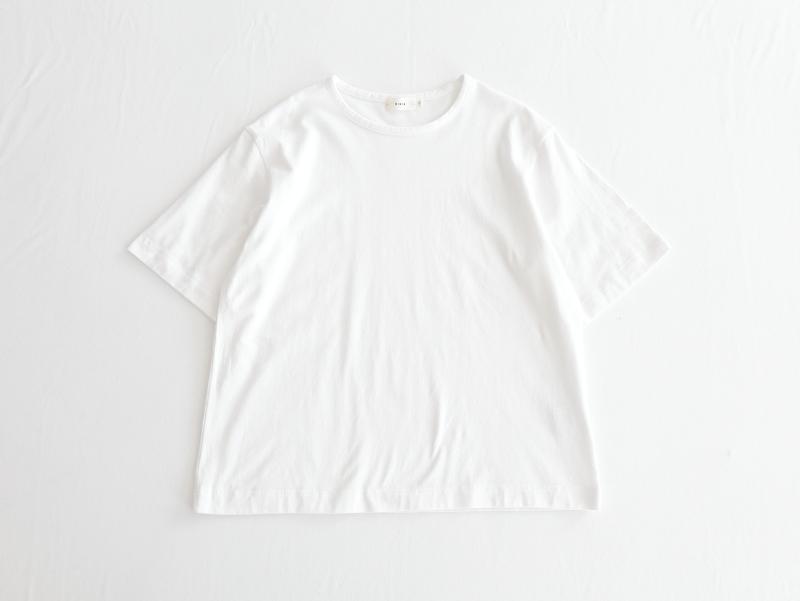 40/2天竺 半袖クルーネック R11103 RINEN women