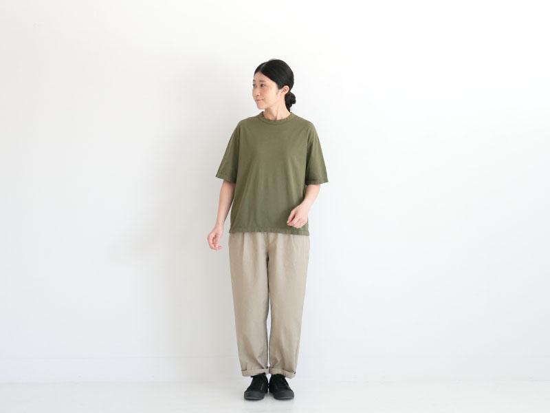 60/2天竺 半袖クルーネック R11105 RINEN women