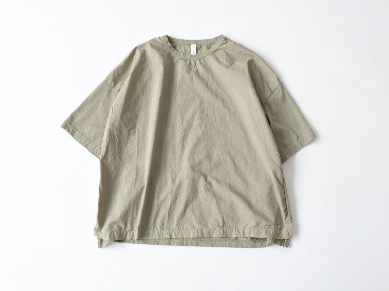 30/1ハイゲージ天竺×80/1タイプライター 切替5分袖TシャツP92116  prit