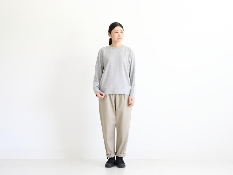 16/1チノ テーパードイージーパンツ R40105 RINEN women