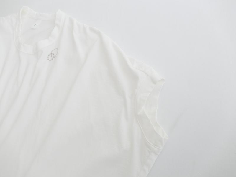 40/1ハイゲージ天竺サークル刺繍 ポンチョプルオーバーP92132  prit