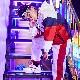 ウィンドブレーカー 長袖 ジャージ ブルゾン 女の子 男の子 子供 レッド キッズ〜大人 4サイズ ヒップホップ ダンス 衣装 ネコポス配送(275円)可能