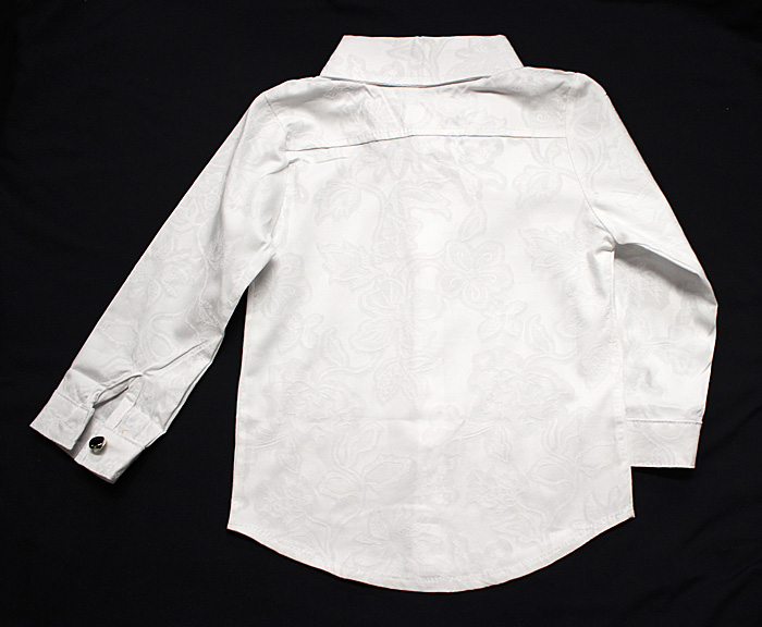 貴族シャツ Yシャツ 男の子 フォーマル ワイシャツ シャツ 子供 スーツ フォーマルシャツ 男の子 スーツ 英国風 カッターシャツ きれいめシャツ 長袖90cm,100cm,110cm,120cm,130cm,140cm 〔ネコポスOK(送料275円)〕 ダンサー