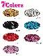 【訳あり】 アウトレット 涙型スパンコール レッグウォーマー 〔ネコポスOK(送料275円)〕 ダンサー キッズ ダンス 衣装 HIPHOP 子供 ヒップホップ